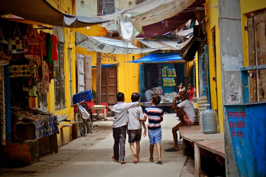 Weeskinderen in Marokko